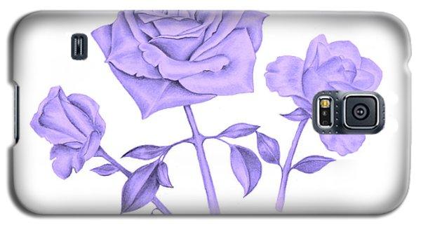Blue Rose Galaxy S5 Case