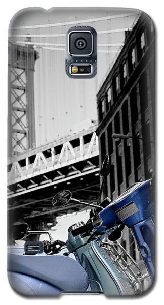 Blue Scooter Galaxy S5 Case