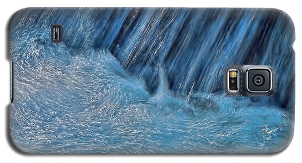 Blue Seam Galaxy S5 Case by Britt Runyon