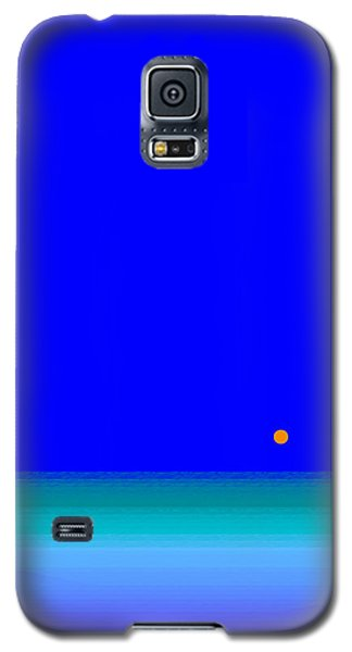 Blue Seas Galaxy S5 Case by Val Arie