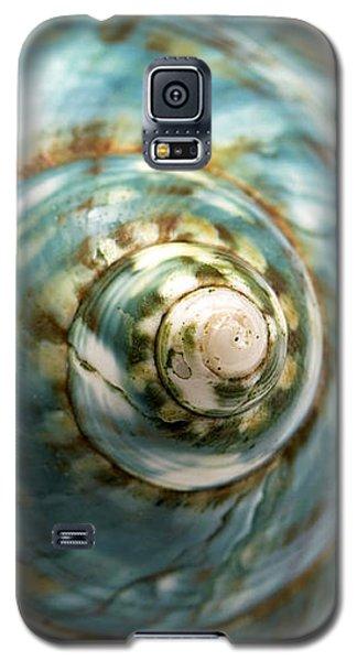 Blue Seashell Galaxy S5 Case