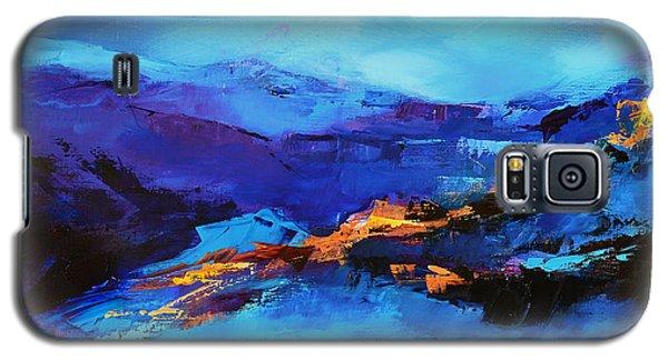 Blue Shades Galaxy S5 Case