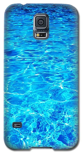Galaxy S5 Case featuring the photograph Blue Shadow by Ramona Matei