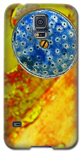 Blue Shower Head Galaxy S5 Case