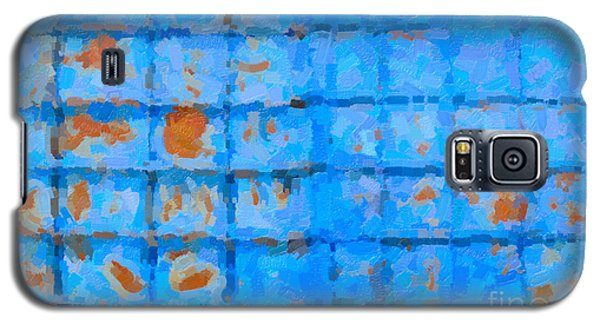Blue Shutter And Rust Galaxy S5 Case