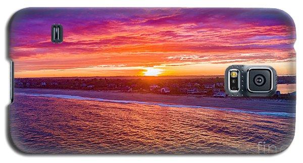 Blue Shutter East Beach Galaxy S5 Case
