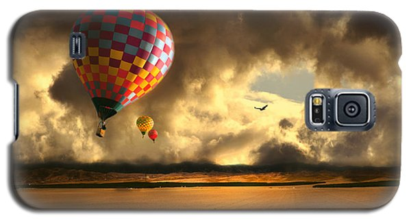 Blue Skies Ahead Galaxy S5 Case by Artist and Photographer Laura Wrede