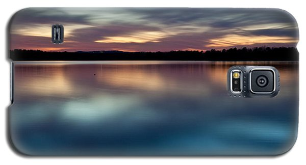Blue Skies Of Reflection Galaxy S5 Case