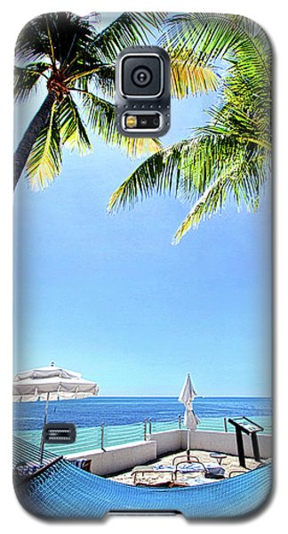 Galaxy S5 Case featuring the photograph Blue Sky Breezes by Phil Koch