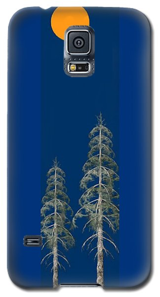 Galaxy S5 Case featuring the painting Blue Sky by David Dehner