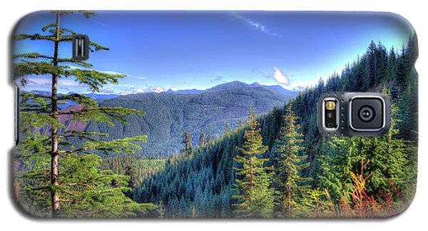 Galaxy S5 Case featuring the photograph Blue Skykomish by Spencer McDonald