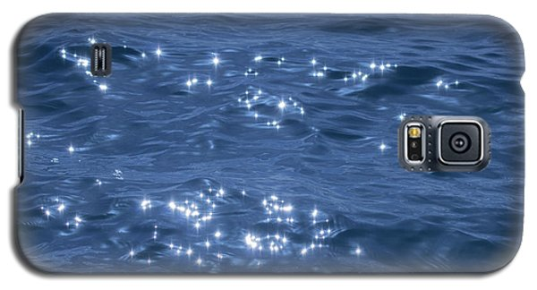 Galaxy S5 Case featuring the photograph Blue Sparkling Water by RKAB Works