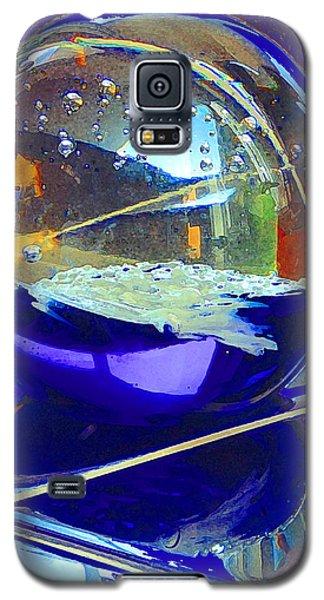 Blue Sphere Galaxy S5 Case