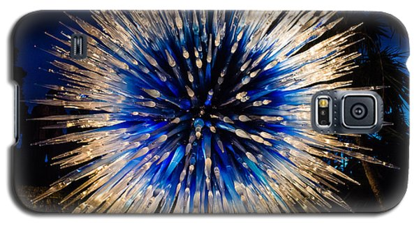 Blue Star At Night Galaxy S5 Case