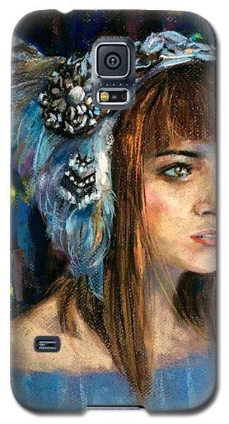 Blue Star Galaxy S5 Case by Jieming Wang