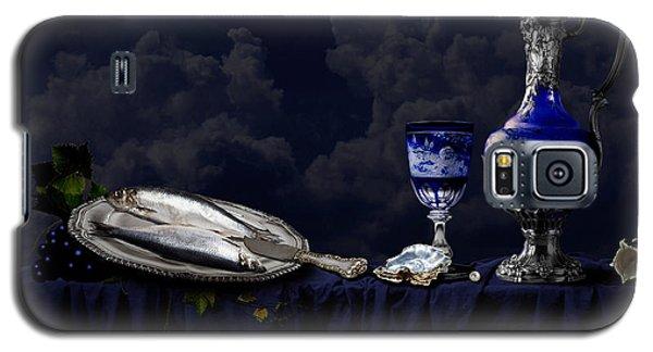 Still Life In Blue Galaxy S5 Case