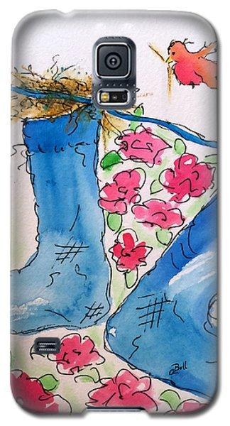 Blue Stockings Galaxy S5 Case