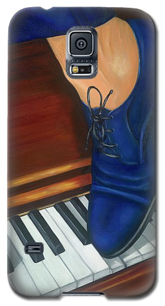 Blue Suede Shoes Galaxy S5 Case