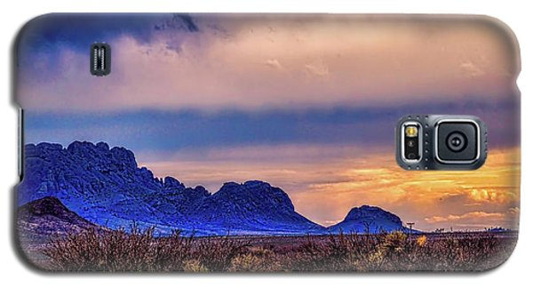 Blue Sunset Nm-az Galaxy S5 Case by Diana Mary Sharpton
