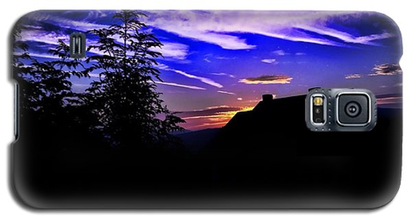 Galaxy S5 Case featuring the photograph Blue Sunset In Poland by Mariola Bitner