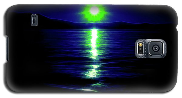 Blue Sunset Galaxy S5 Case