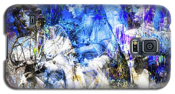 Blue Symphony Of Angels Galaxy S5 Case