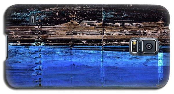 Blue Tanker Galaxy S5 Case