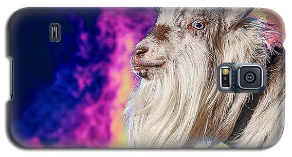 Blue The Goat In Fog Galaxy S5 Case