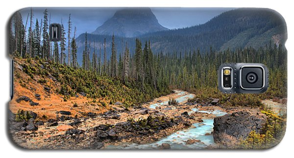 Galaxy S5 Case featuring the photograph Blue Through The Yoho Valley by Adam Jewell