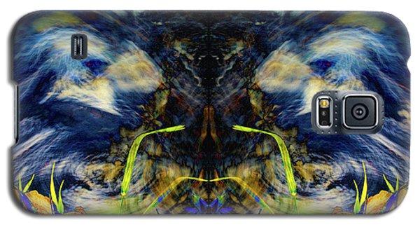 Blue Tigers Devil Galaxy S5 Case