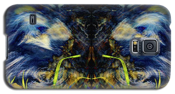 Blue Tigers Devil Galaxy S5 Case