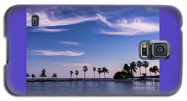 Blue Tropics Galaxy S5 Case