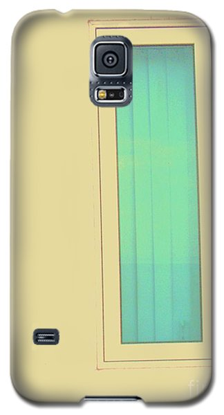 Blue  Galaxy S5 Case by Vanessa Palomino