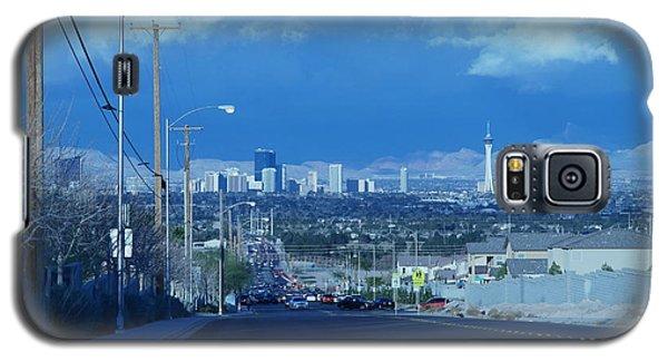Blue Vegas Galaxy S5 Case