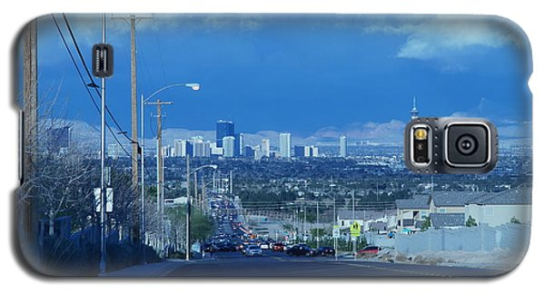 Blue Vegas Galaxy S5 Case