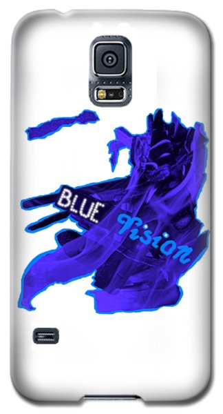 Galaxy S5 Case - Blue Vision by Orphelia Aristal