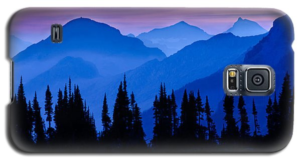 Blue Wall Galaxy S5 Case by Mike Lang