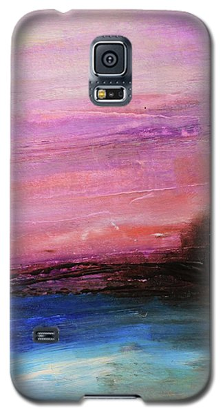 Blue Water Abstract Galaxy S5 Case