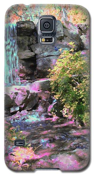 Blue Waterfall Galaxy S5 Case