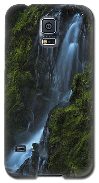 Blue Waterfall Galaxy S5 Case