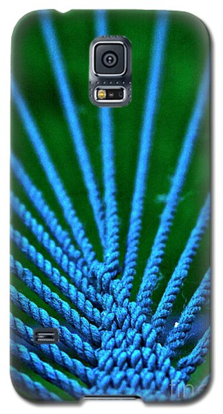 Galaxy S5 Case featuring the photograph Blue Weave by Xn Tyler