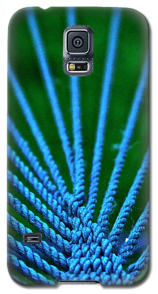 Blue Weave Galaxy S5 Case by Xn Tyler