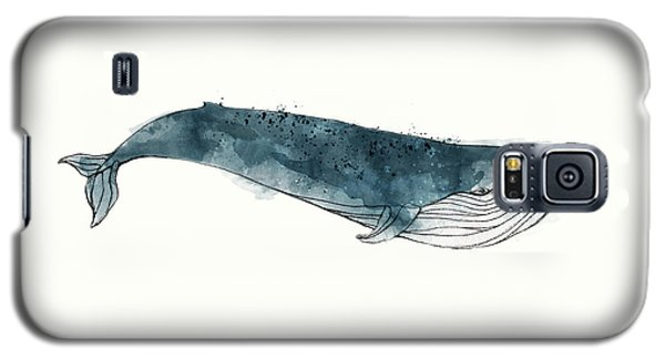 Whale Galaxy S5 Case - Blue Whale From Whales Chart by Amy Hamilton