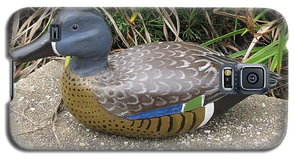 Blue-winged Duck Galaxy S5 Case by Kevin F Heuman