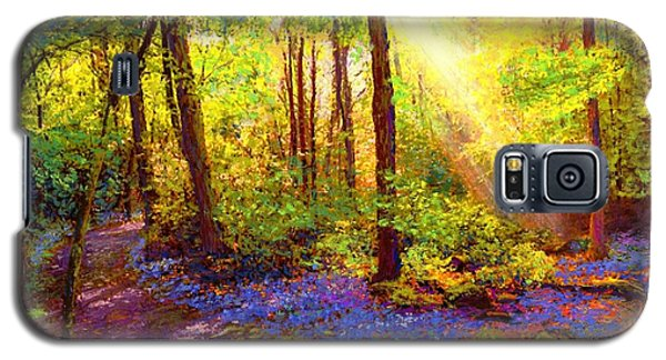 Bluebell Blessing Galaxy S5 Case by Jane Small