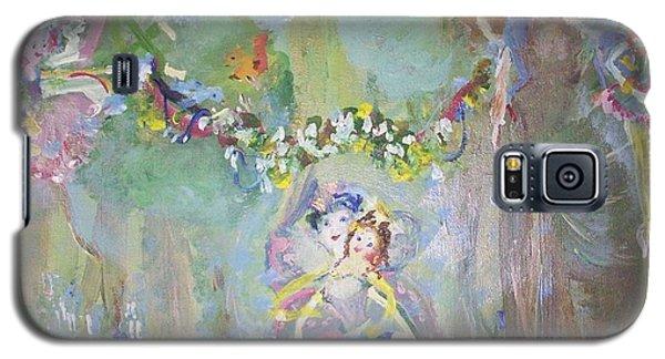 Bluebell Fairies Galaxy S5 Case by Judith Desrosiers