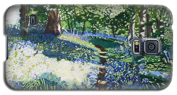 Bluebell Forest Galaxy S5 Case by Joanne Perkins