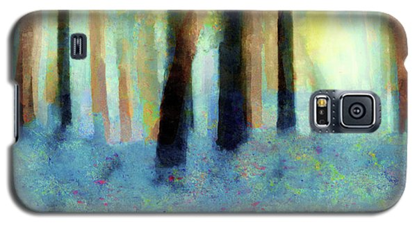 Bluebell Wood By V.kelly Galaxy S5 Case