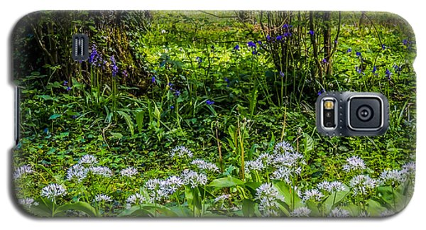 Bluebells And Wild Garlic At Coole Park Galaxy S5 Case