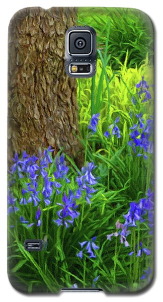 Galaxy S5 Case featuring the photograph Bluebells Of Springtime  by Connie Handscomb